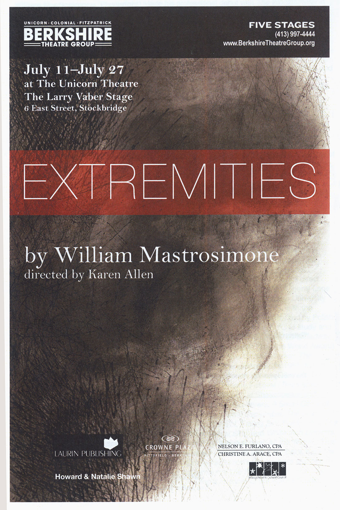 Extremities, Berkshire Theatre Festival - 2013