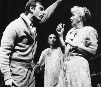The Glass Menagerie –Joanne Woodward, John Sayles and Karen – Williamstown Theatre Festival 1984